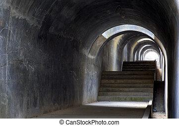tunnel, 1