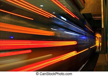 tunnel, #1, métro