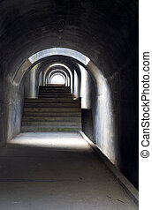 Tunnel 2 - Tunnel with light at the end