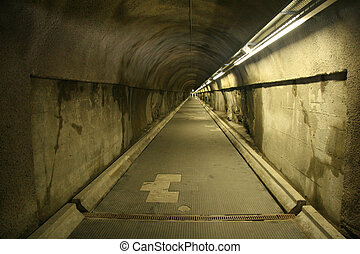 Tunnel - A tunnel in Alps