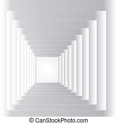 tunnel, abstract
