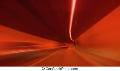 tunnel abstract speed 03