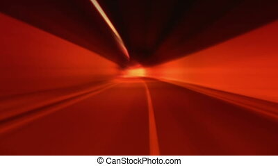 tunnel abstract speed 07