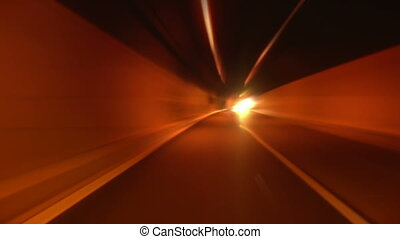 tunnel abstract speed 10