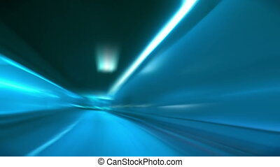 tunnel abstract speed 11