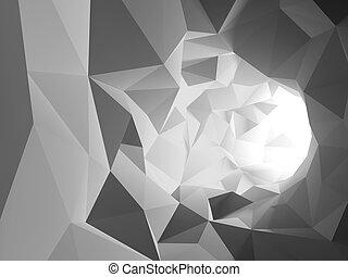 tunnel, abstrakt