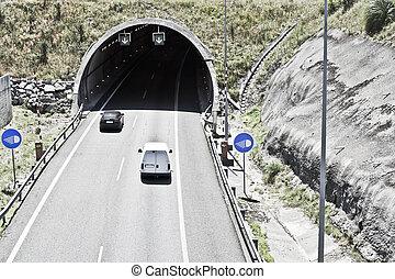 tunnel, autostrada
