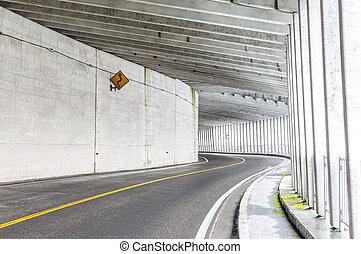 tunnel, berg