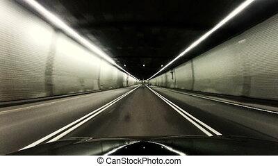 tunnel, conduite