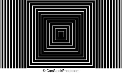 Tunnel E5-04p - Concentric geometric shapes in seamless ...