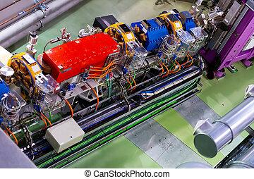 tunnel, gaspedaal, synchrotron