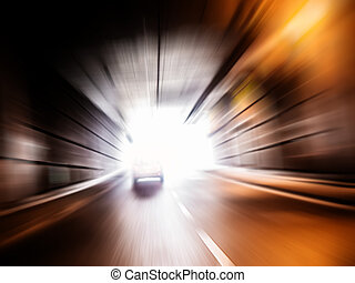 tunnel, geschwindigkeit