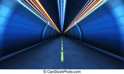 Tunnel  in motion