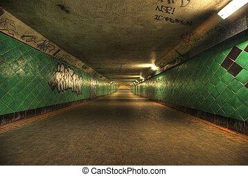 tunnel., langer, hdri