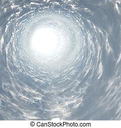 tunnel, licht