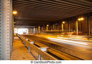 tunnel, lighteffect