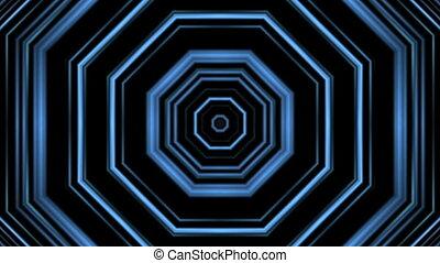 Tunnel lines kaleidoscope
