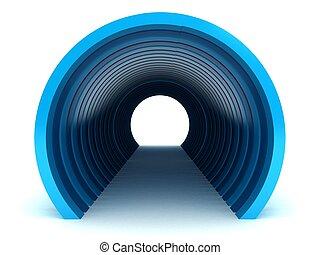 tunnel, métro