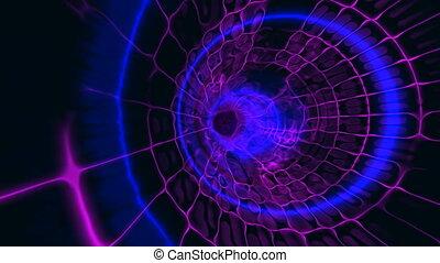 tunnel plasma blue pink
