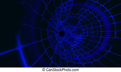 tunnel plasma blue