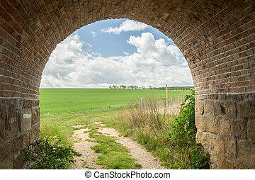 tunnel, pré