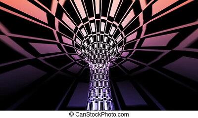 tunnel, résumé, géométrique