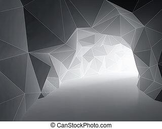 tunnel, résumé