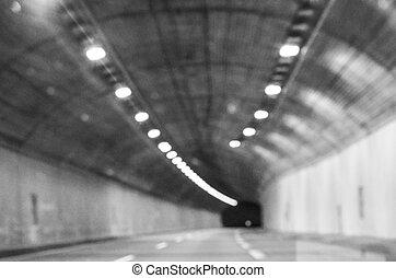 tunnel zicht