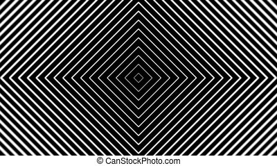 TunnelE5-05n - Concentric geometric shapes in seamless...
