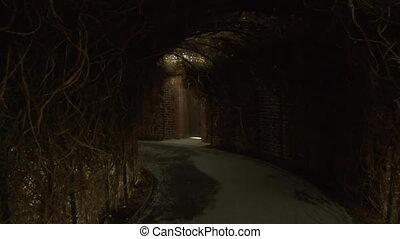 tunnels in the secret Garden