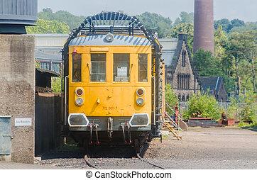 Tunnesl trolley, railway