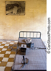 Tuol Sleng Prison - Tuol Sleng prison in Phnom Penh,...