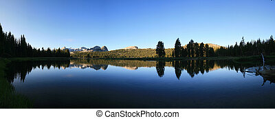 Tuolumne River reflection