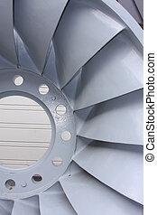 turbina, elétrico, hydro