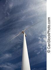 turbina, energia vento