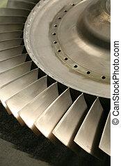 turbina, lâminas