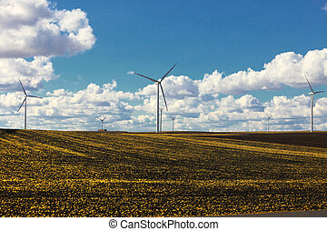 turbina vento, -, energia, rinnovabile
