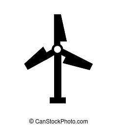 turbine air energy icon vector illustration design