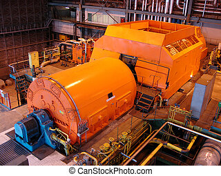 turbine, dampf