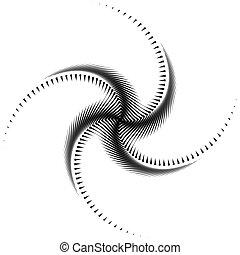 turbine, disegno, fondo, monocromatico, polpo, movimento