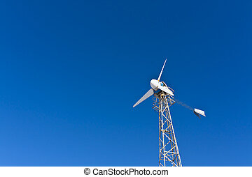 turbine., energia, vento