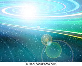 turbine, galassia