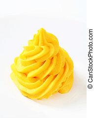turbine, giallo, crema