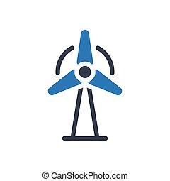 turbine  glyph color icon