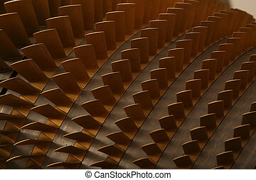 turbine, klingen