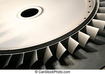 turbine, lames
