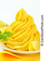 turbine, limone, crema