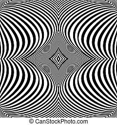 turbine, linee, movimento, disegno, fondo, monocromatico