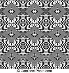 turbine, linee, seamless, disegno, fondo, monocromatico