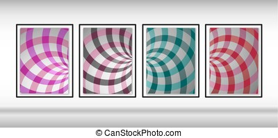 turbine, modello, illustrazione, fondo., vettore, rays.set, backgrounds.double, radiale, turbine, design., rotazione, helix., elica